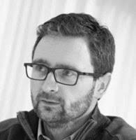 Photo de Sébastien Jungen en noir et blanc